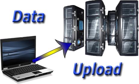 как закачать файлы на сервер